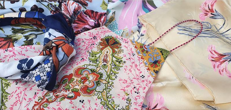 We-Resonate Reclaimed Vintage Silks