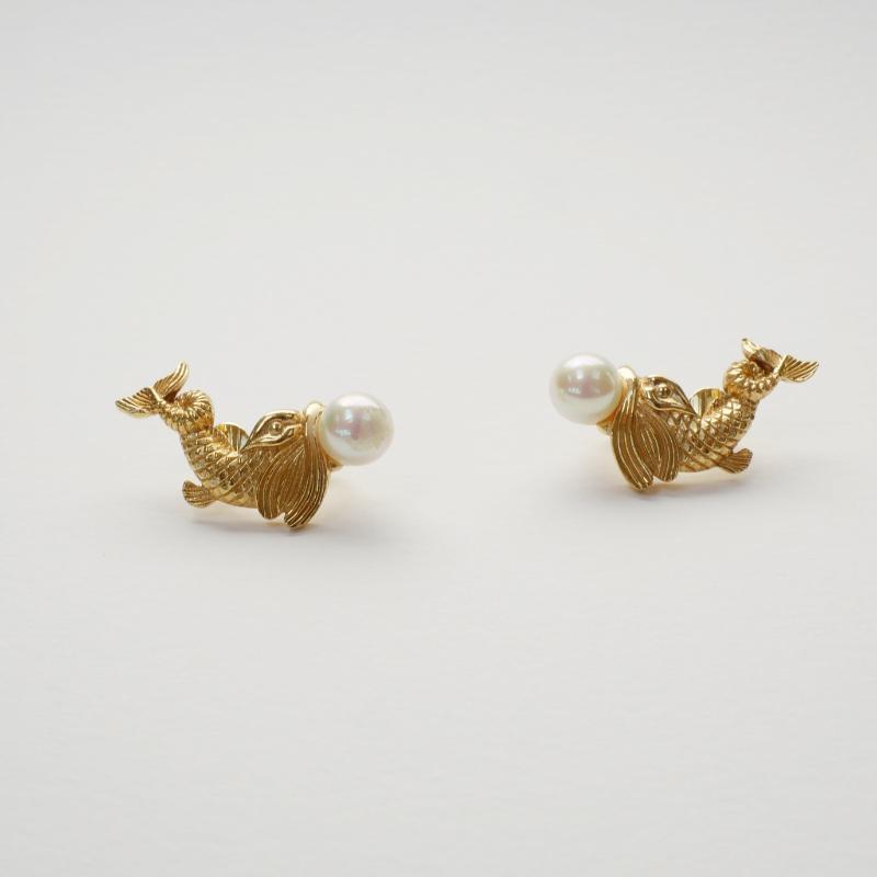 60s Dior earrings