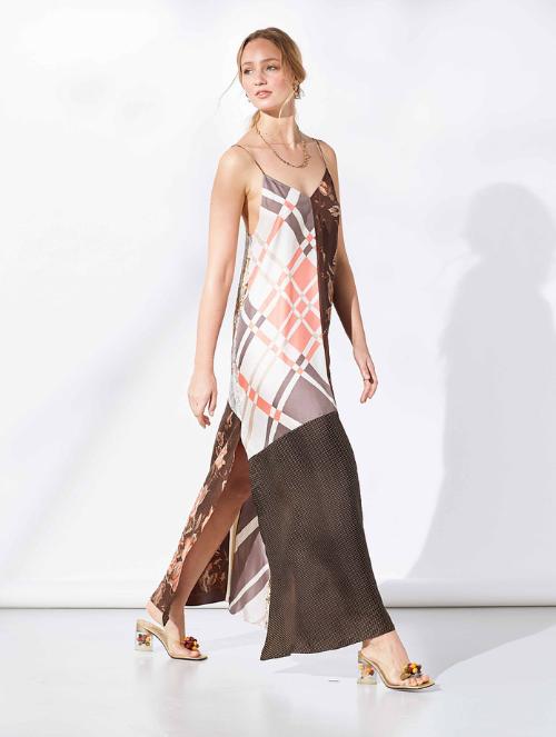 We-Resonate Silk Franzi Dress