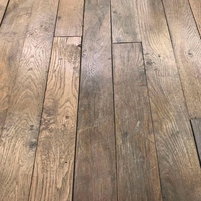 Antique Haussmann parquet flooring