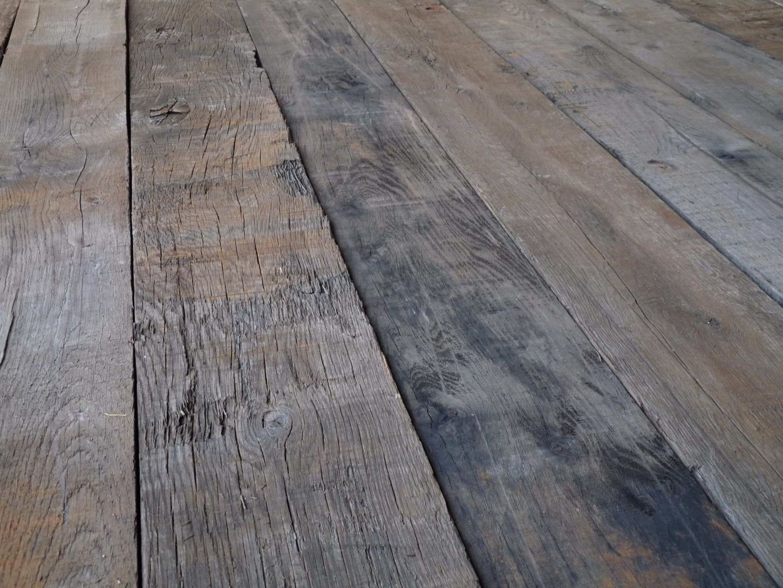 Reclaimed oak wagon board